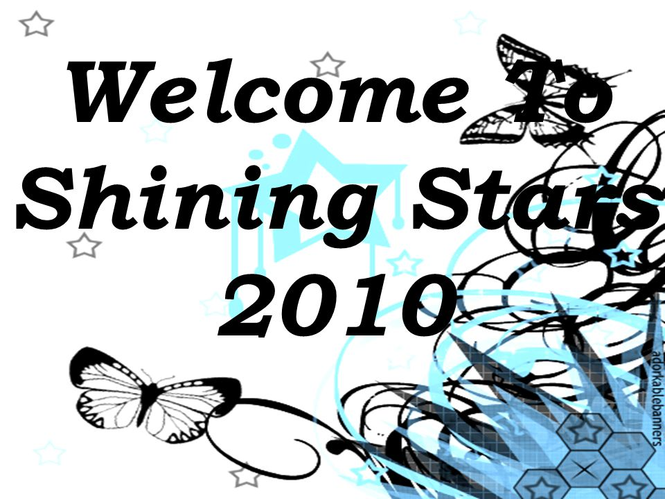 Welcome To Shining Stars 2010