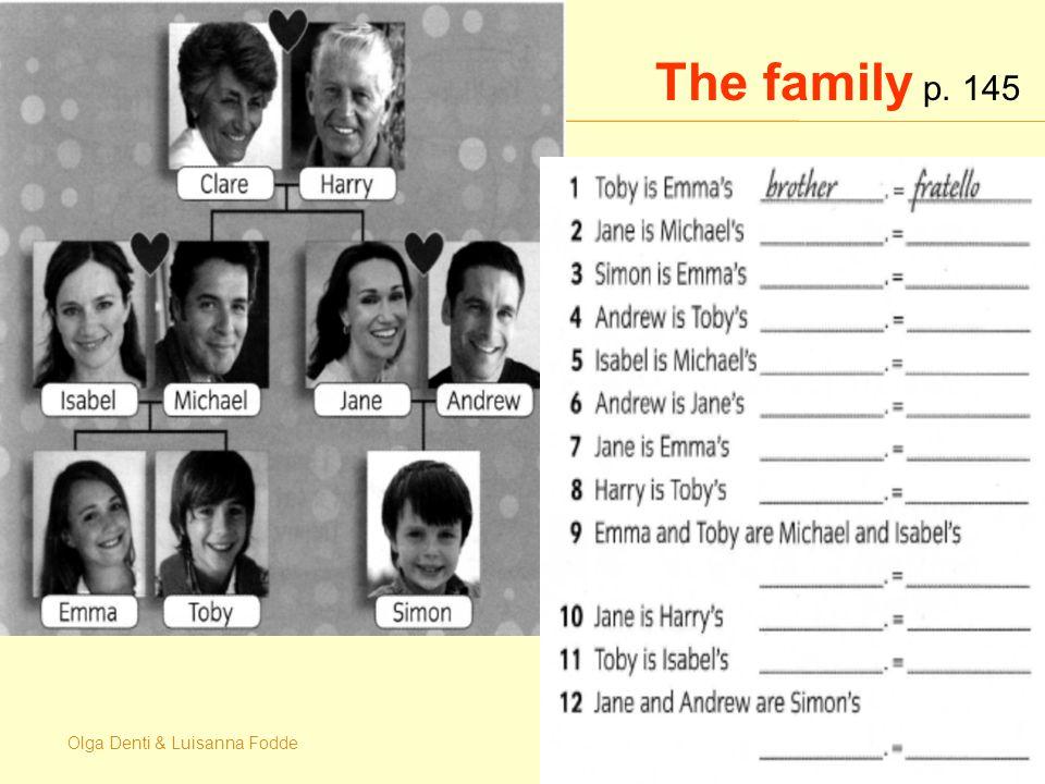 Olga Denti & Luisanna Fodde The family p. 145