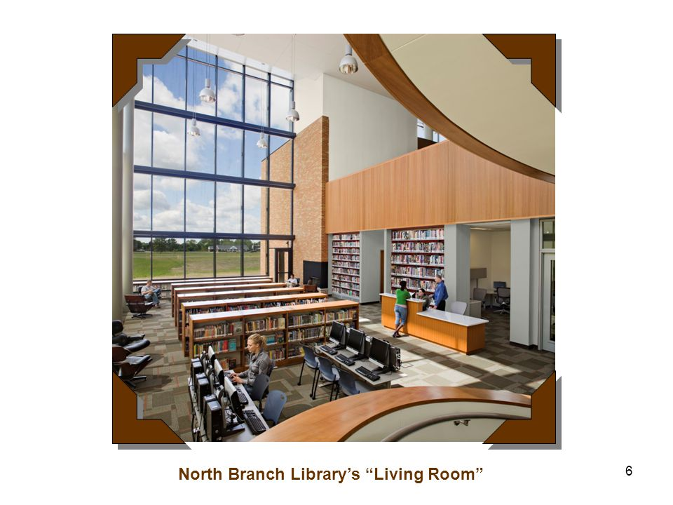 6 North Branch Library's Living Room