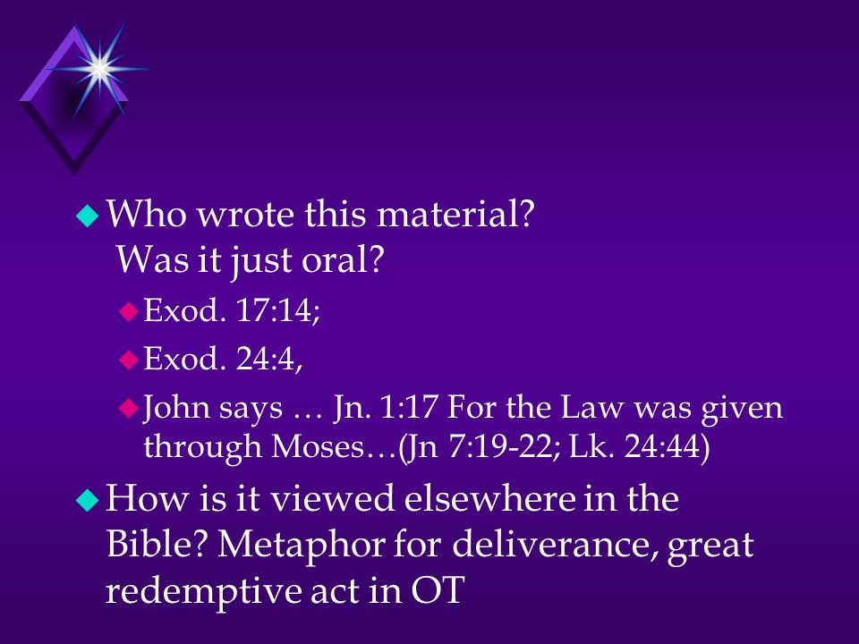 What is happening with Zipporah in Ex.4:24-26 u Who did God attack.
