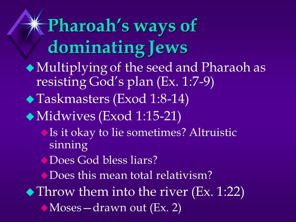 Moses: 3 Stages of life u Pharaoh's daughter's son (40 yrs) u Desert Shepherd in Midian (40 yrs) u Deliverer (40 yrs) Leading in Desert