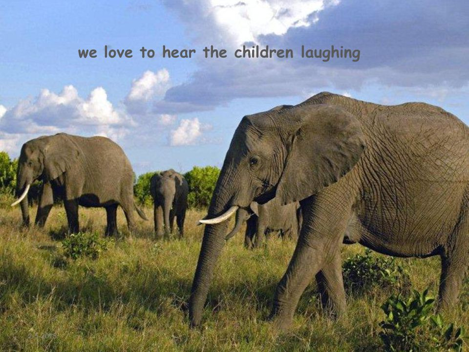 2-5-2015 we love to hear the children laughing