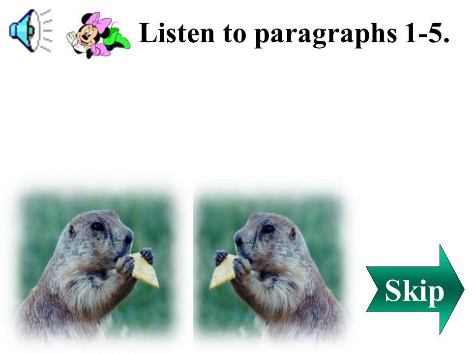 1.( ) 2.( ) 3.( ) 4.( ) 5.( )6.( ) C F E A D B (A) proud (B) busy (C) wise (D) slow (E) peaceful (F) lazy Back