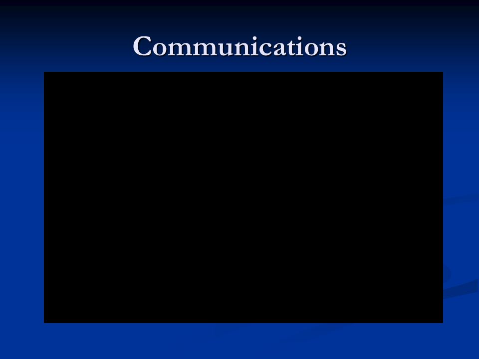Communication Axioms Standard language benefits all.