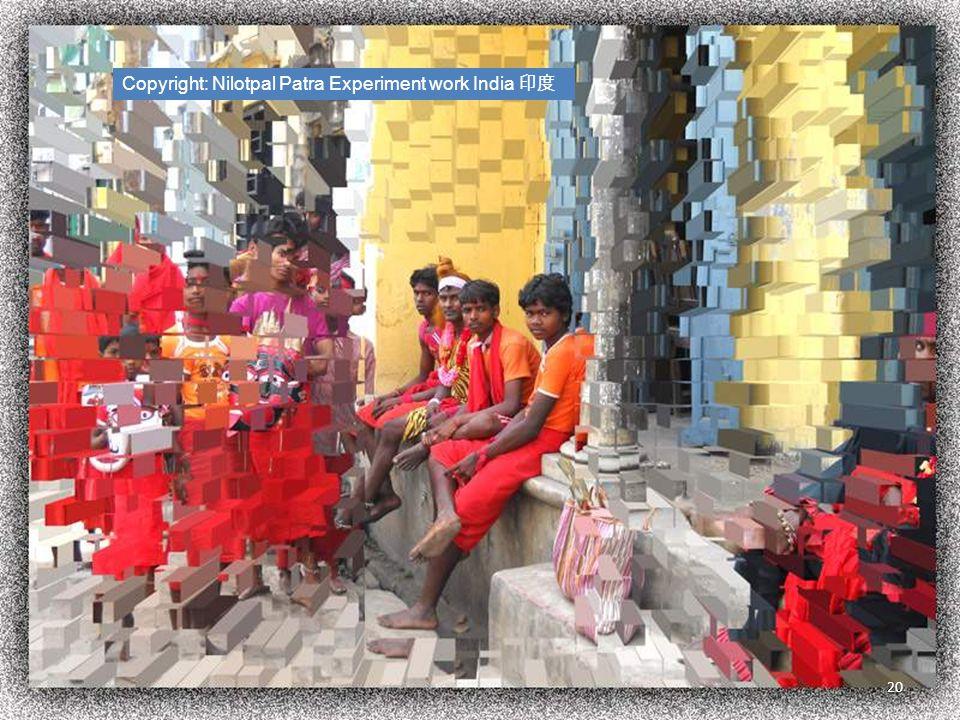 Copyright: Nilotpal Patra Experiment work India 印度 20
