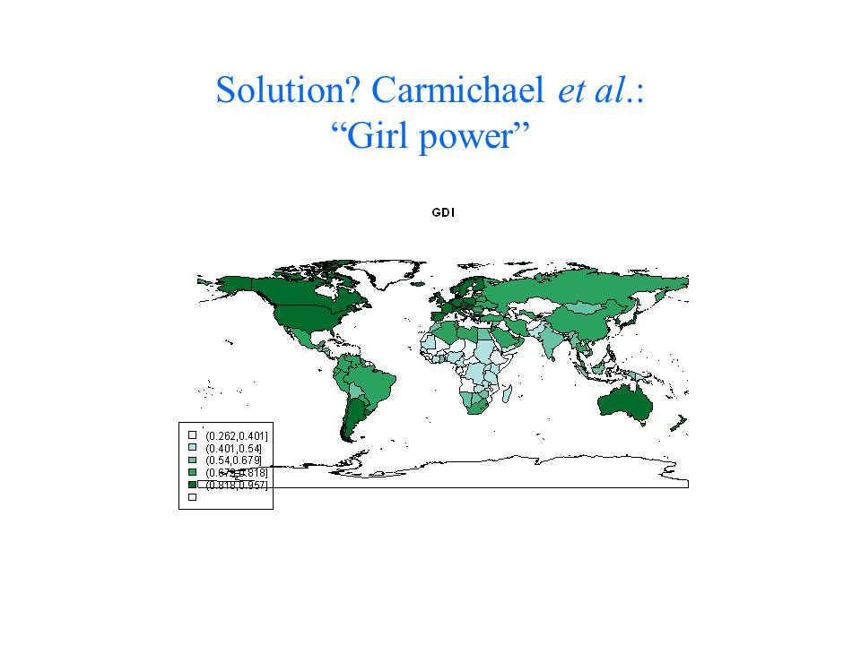 "Solution? Carmichael et al.: ""Girl power"""