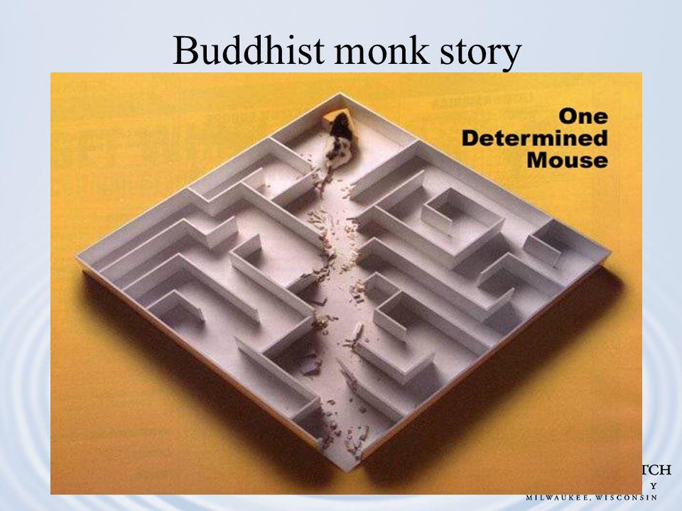 Buddhist monk story
