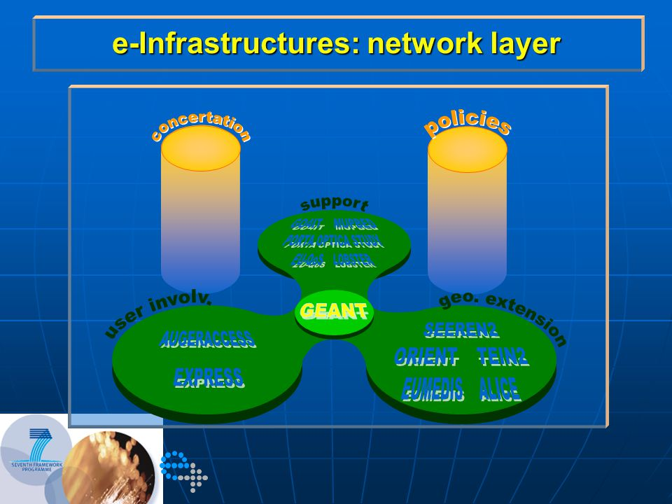e-Infrastructures: network layer