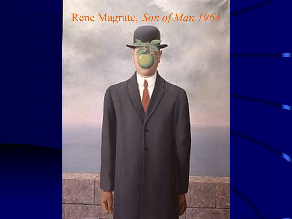 Rene Magritte, Son of Man 1964