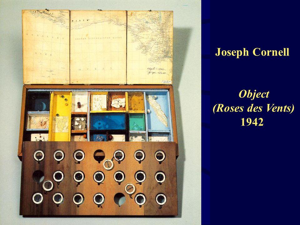 Joseph Cornell Object (Roses des Vents) 1942