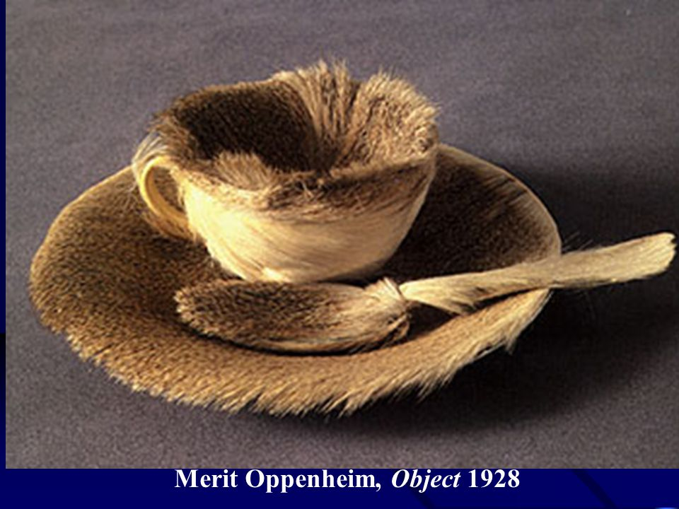 Merit Oppenheim, Object 1928