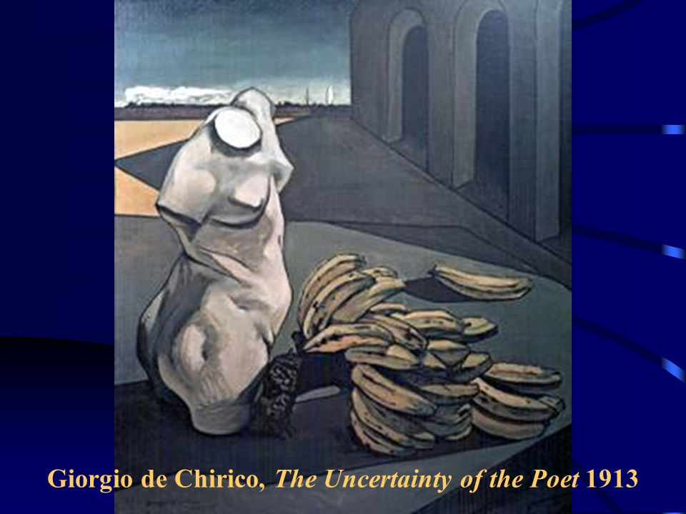 Giorgio de Chirico, The Uncertainty of the Poet 1913