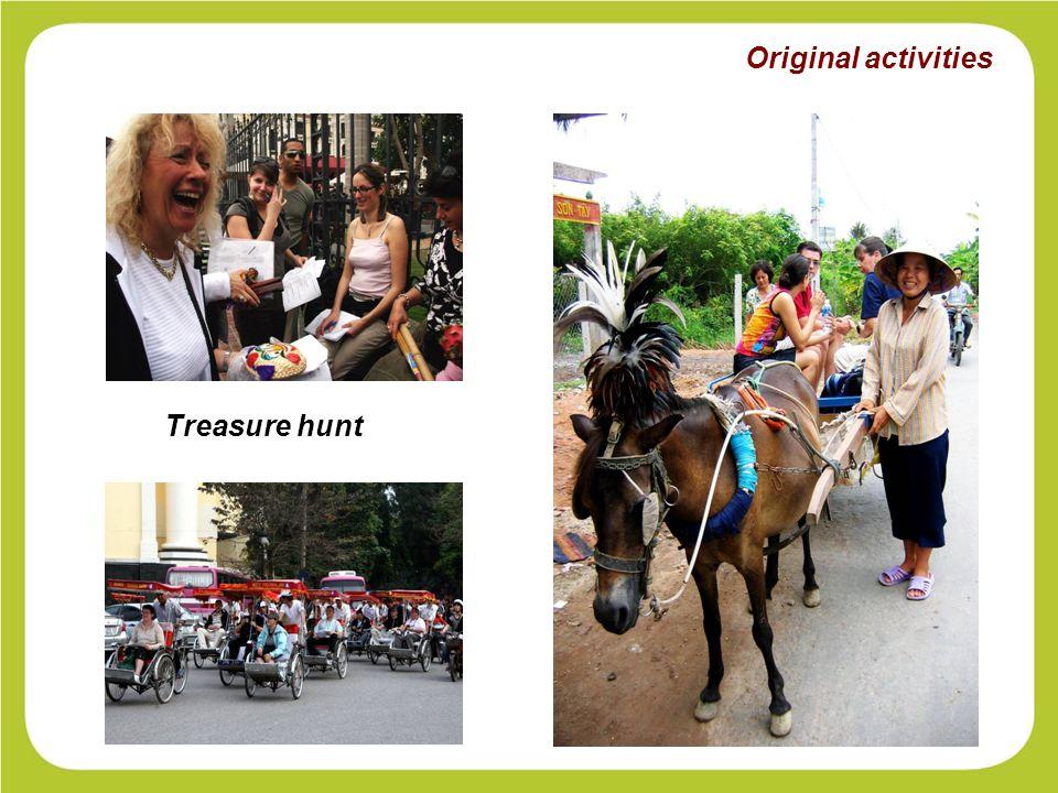 Original activities Treasure hunt