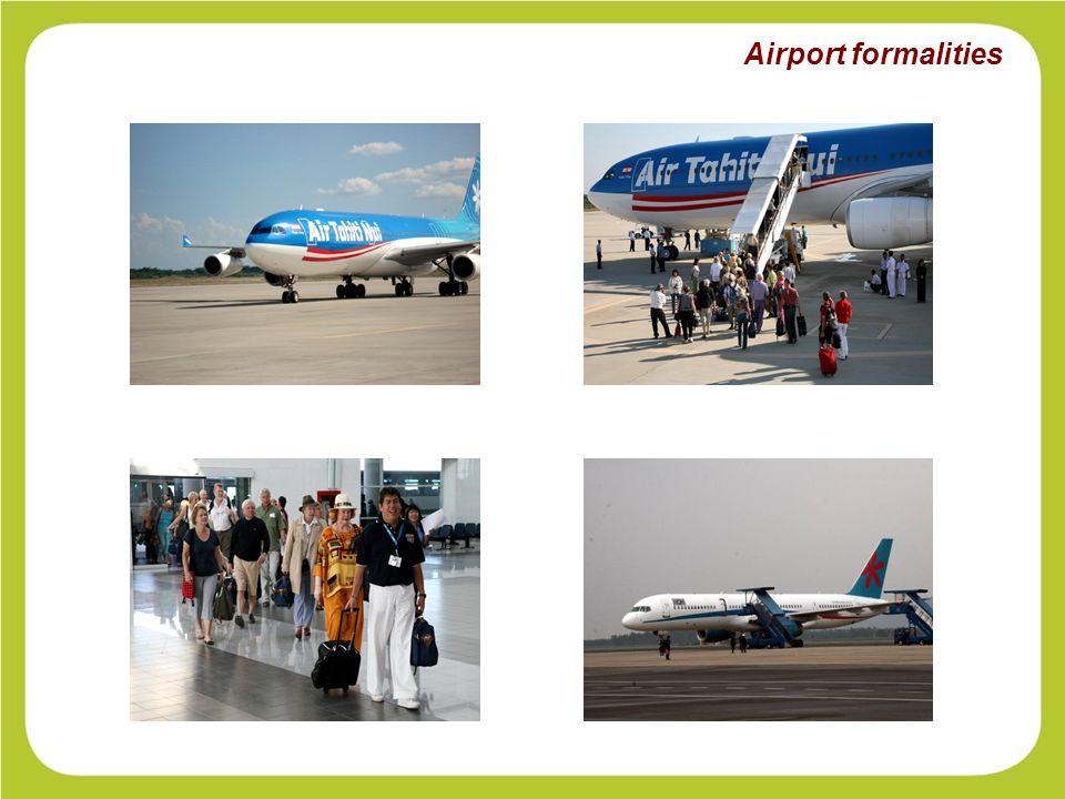 Airport formalities