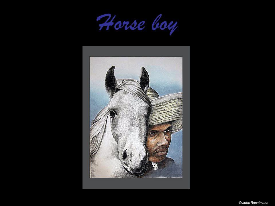 Horse boy © John Baselmans