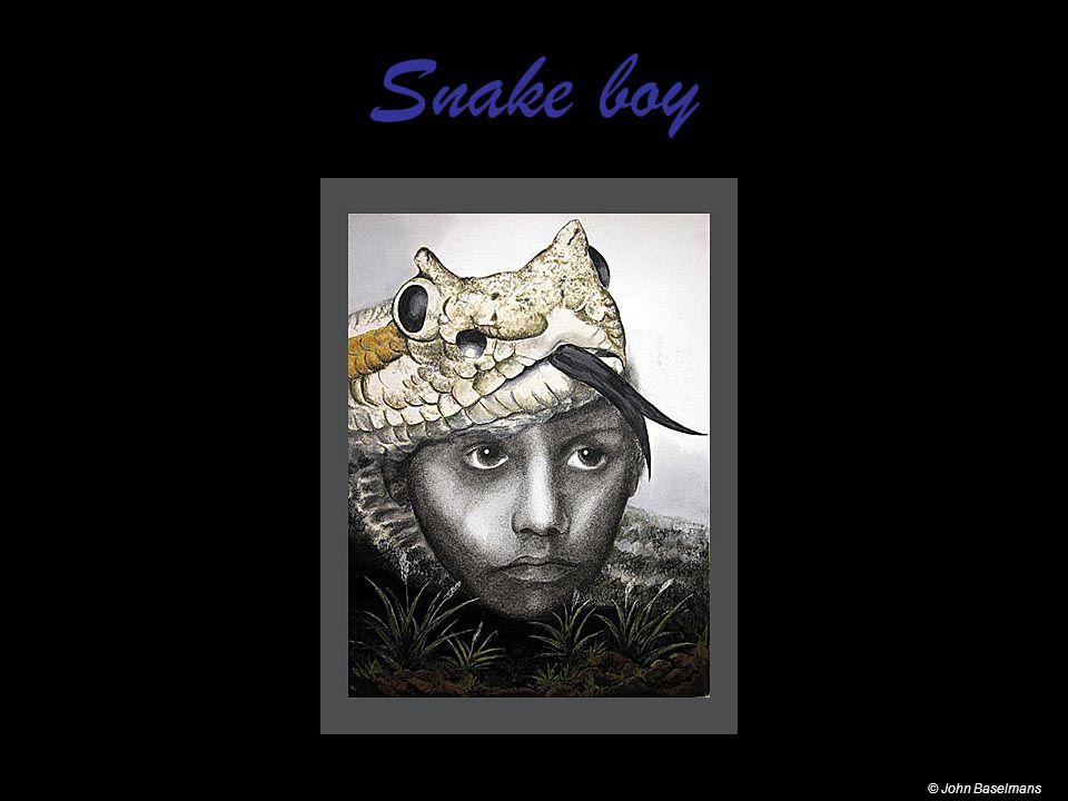 Snake boy © John Baselmans