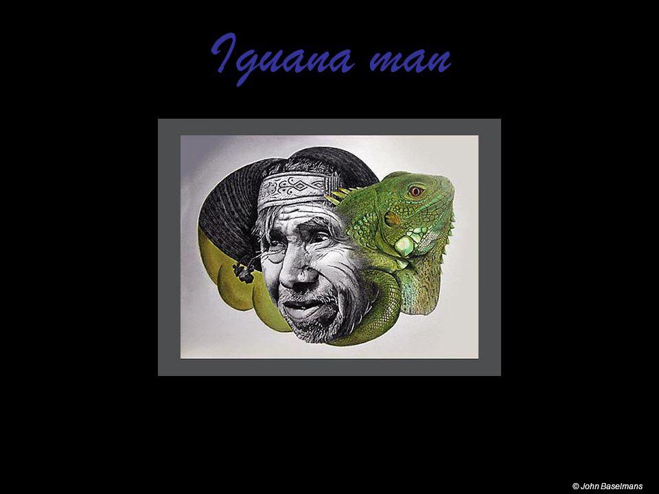 Iguana man © John Baselmans