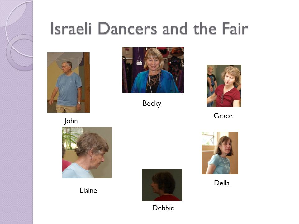 Events At 10 AM The Craft Show is being set up as indicated below The usual Sunday morning Israeli dancing session is in operation