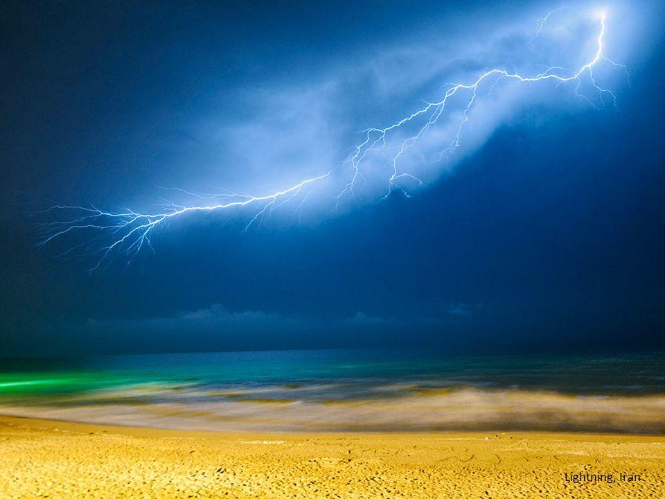 Lightning, Iran