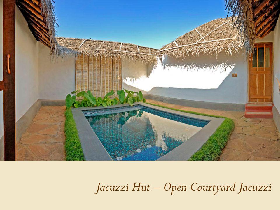 Jacuzzi Hut – Open Courtyard Jacuzzi