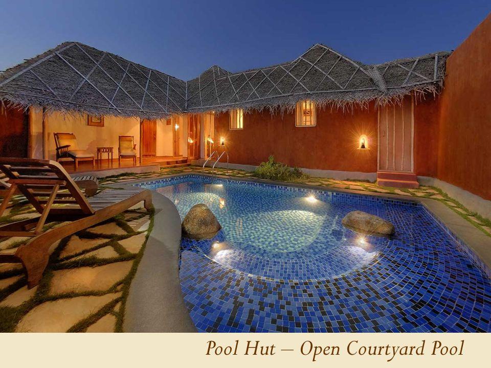 Pool Hut – Open Courtyard Pool