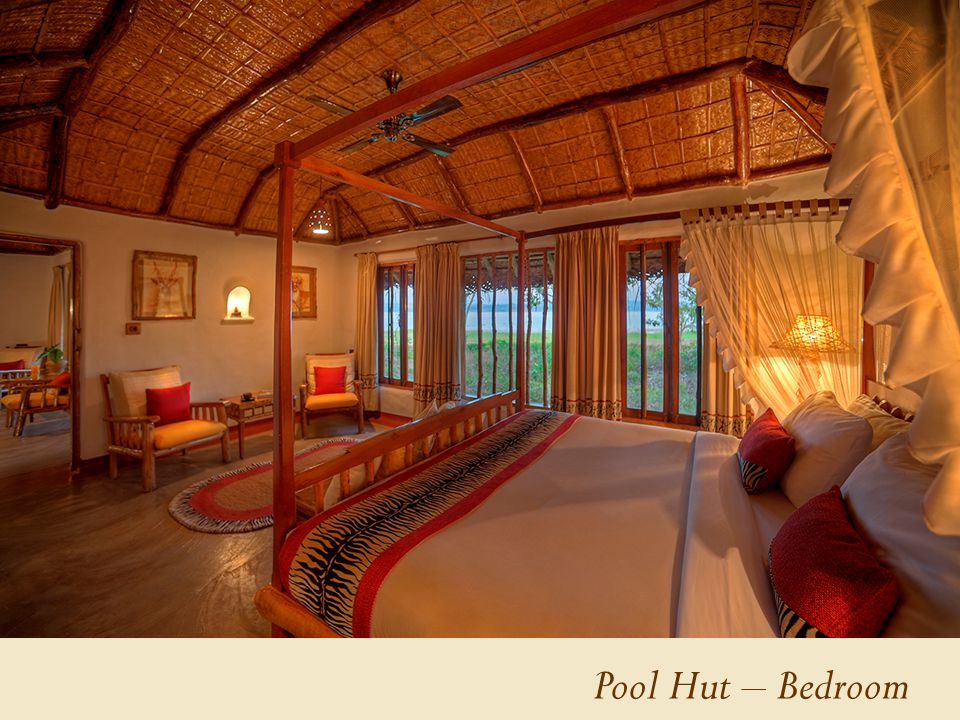 Pool Hut – Bedroom