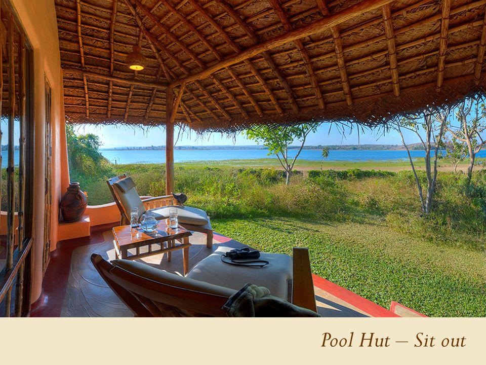 Pool Hut – Sit out