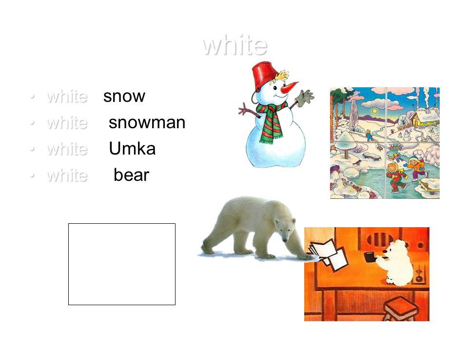 white whitewhite snow whitewhite snowman whitewhite Umka whitewhite bear