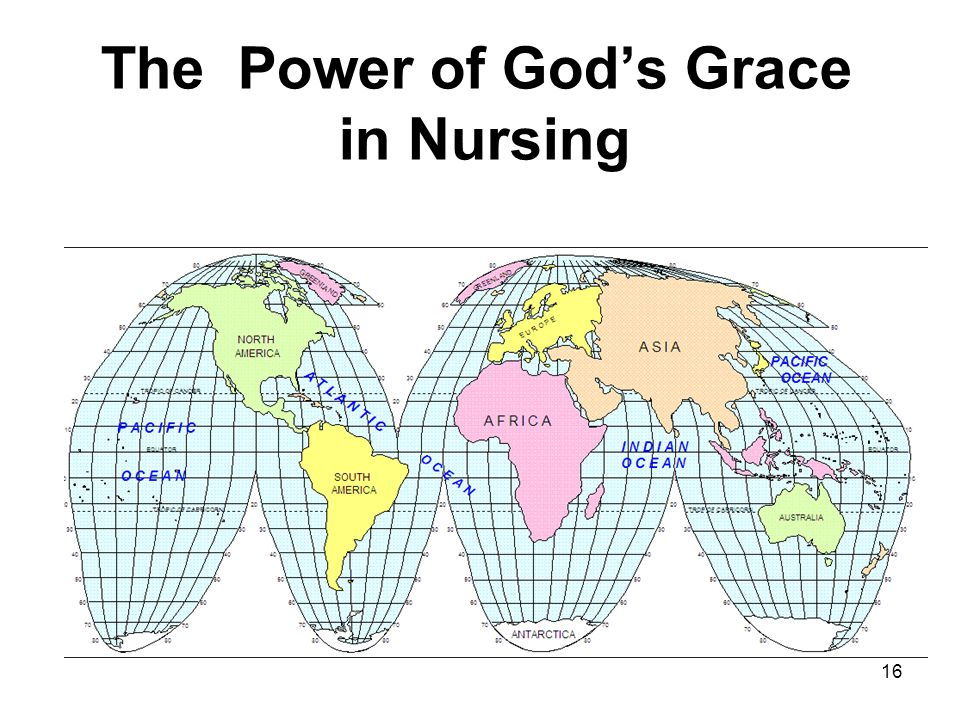 The Power of God's Grace in Nursing 16