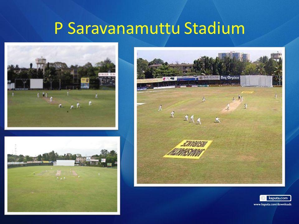 P Saravanamuttu Stadium