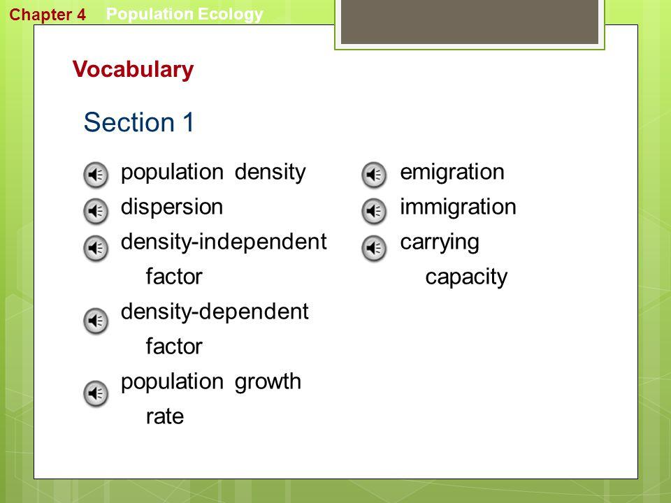 Population Ecology Image Bank Chapter 4