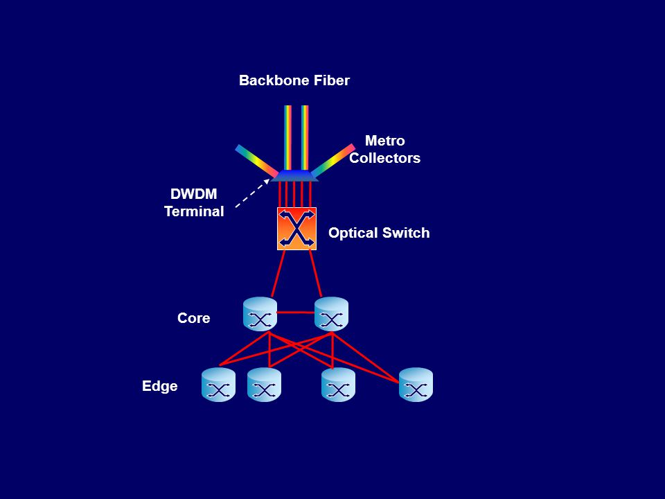 Edge Core Optical Switch DWDM Terminal Backbone Fiber Metro Collectors
