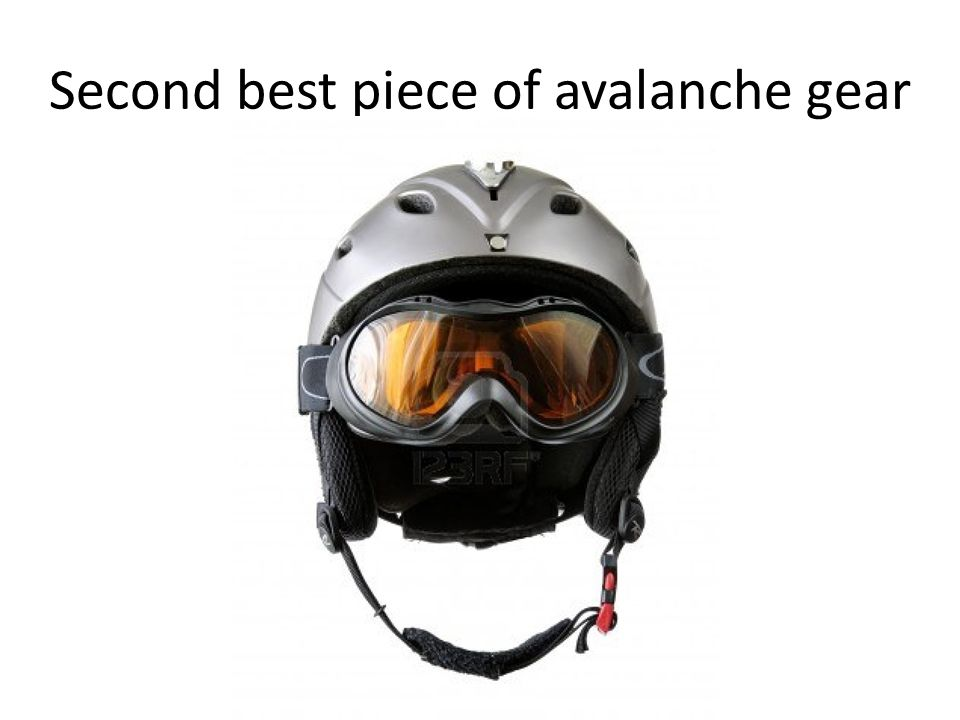 Second best piece of avalanche gear