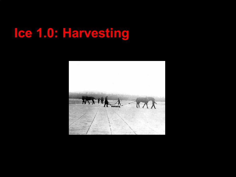 Ice 1.0: Harvesting