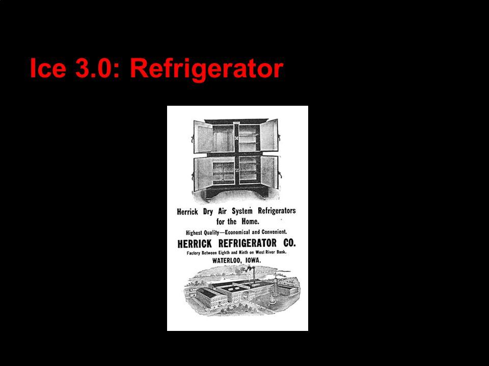 Ice 3.0: Refrigerator