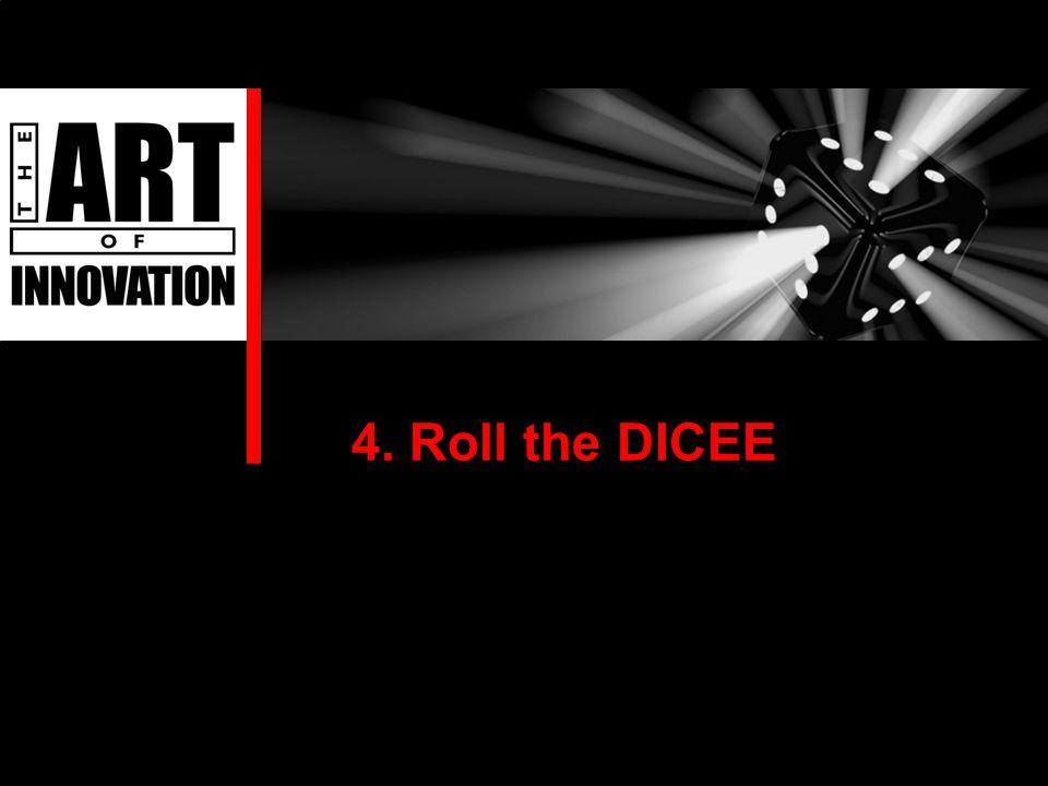 4. Roll the DICEE