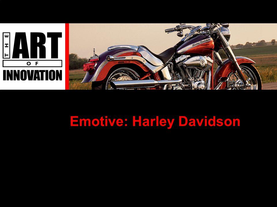 Emotive: Harley Davidson