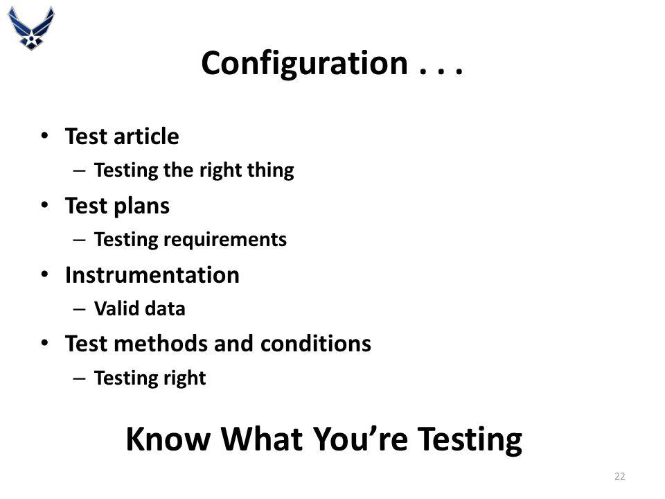 Configuration...