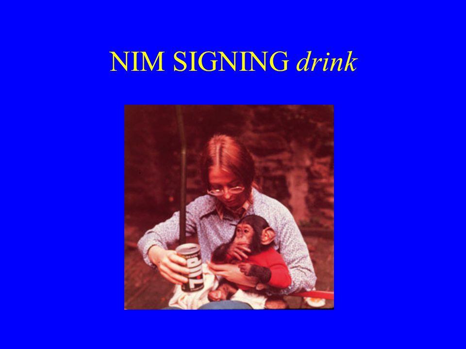 NIM SIGNING drink