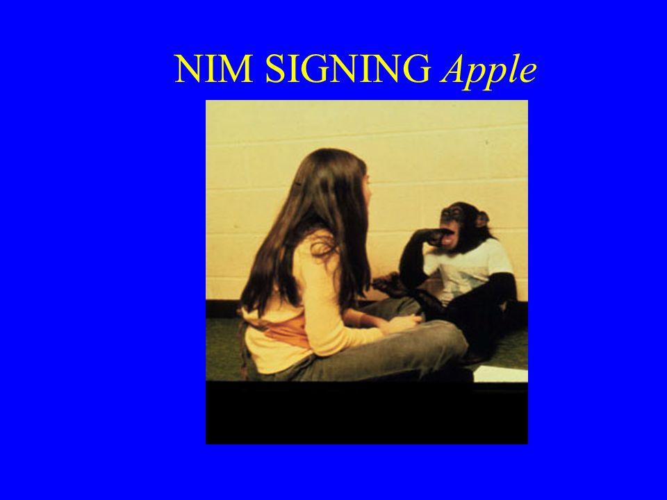 NIM SIGNING Apple