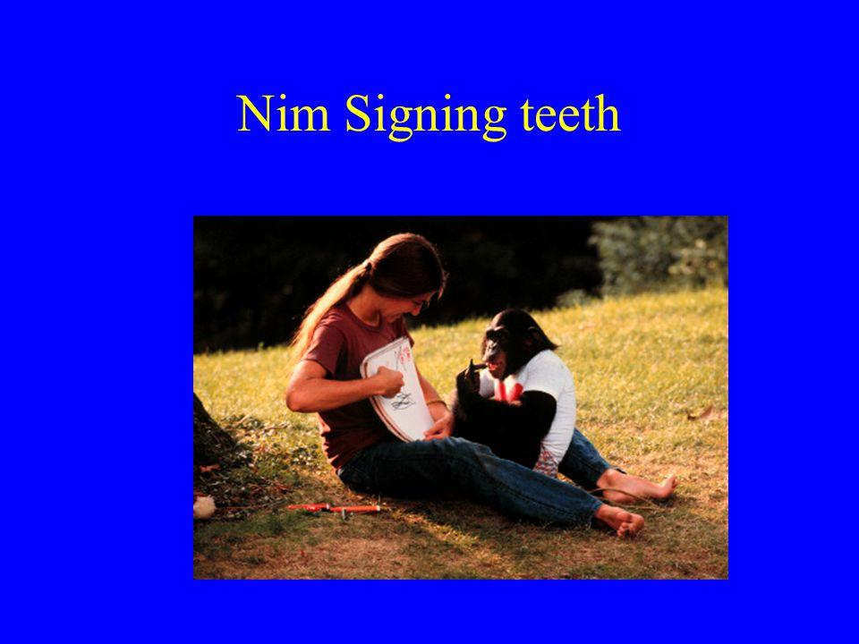Nim Signing teeth