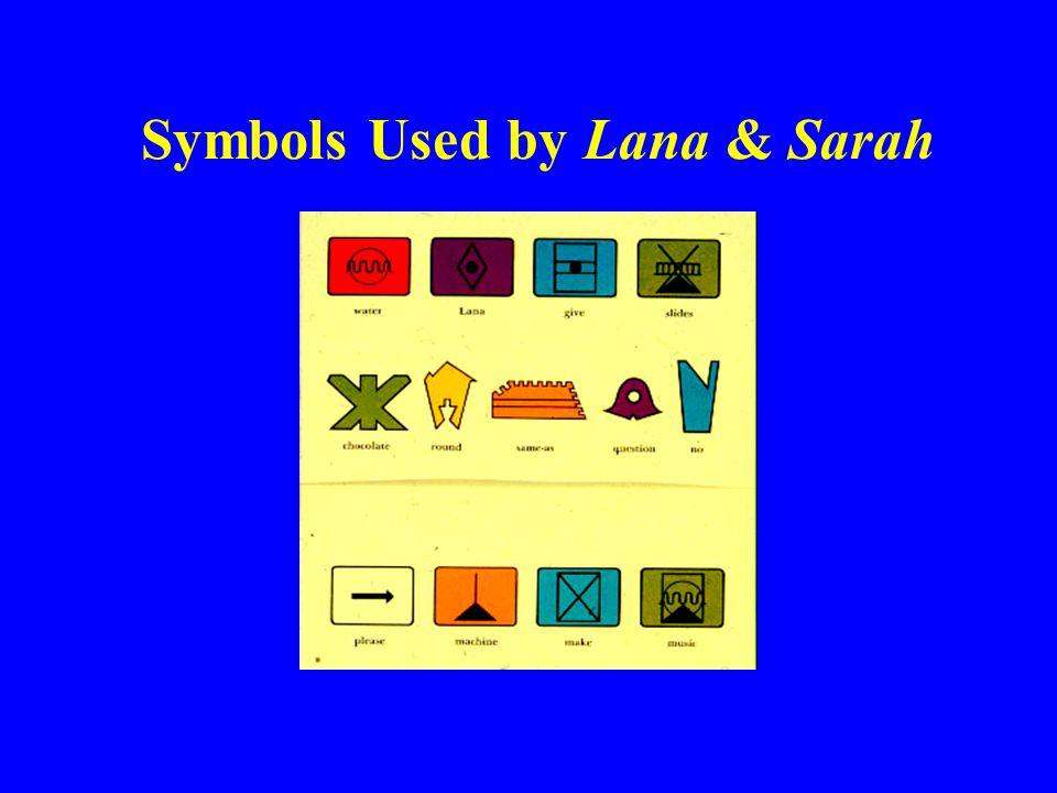 Symbols Used by Lana & Sarah
