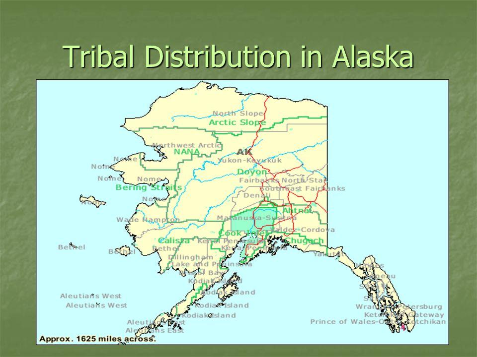 Tribal Distribution in Alaska