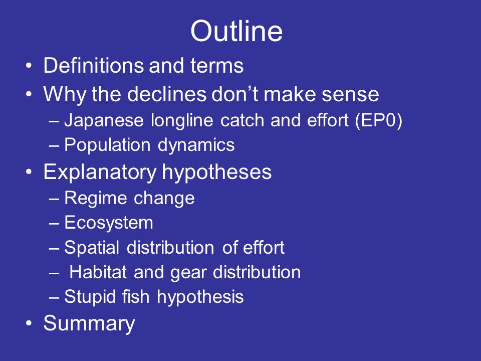 Yellowfin and Bigeye selectivity Bigeye Yellowfin Age in quarters