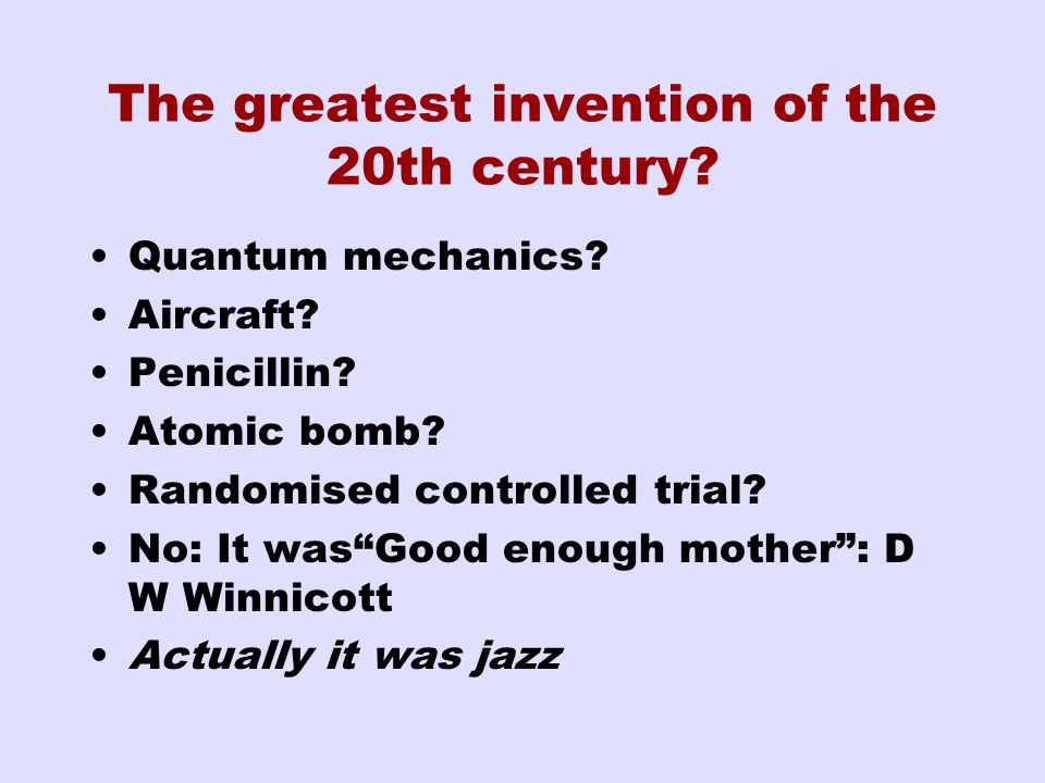 The greatest invention of the 20th century. Quantum mechanics.