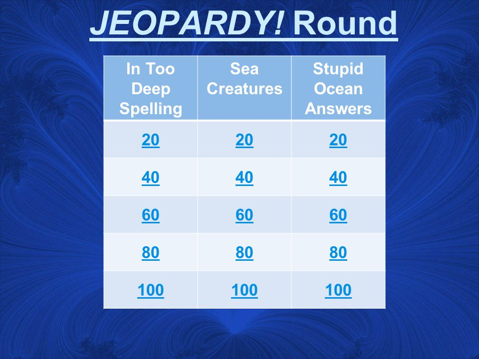 FINAL JEOPARDY.Make your wager.