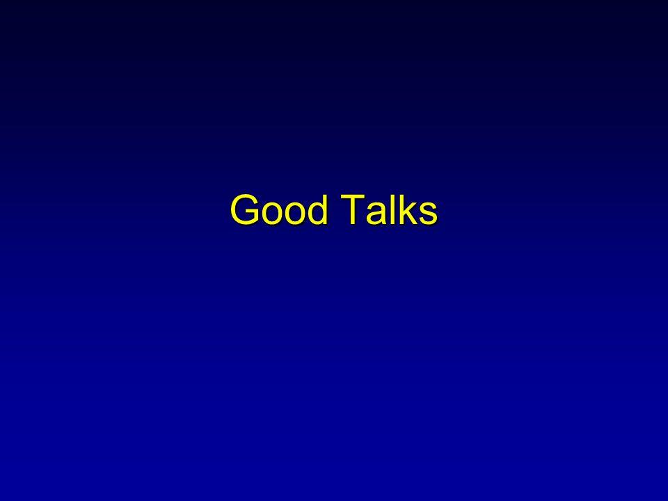 Good Talks