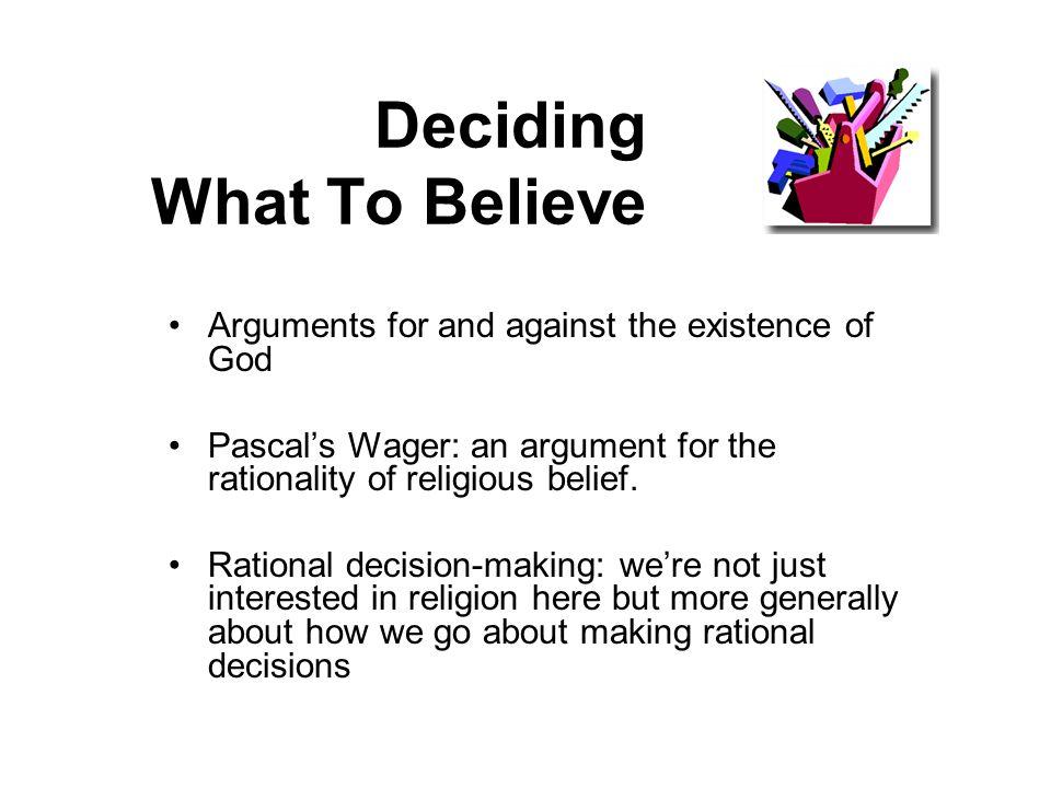 Rationality & Religious Belief