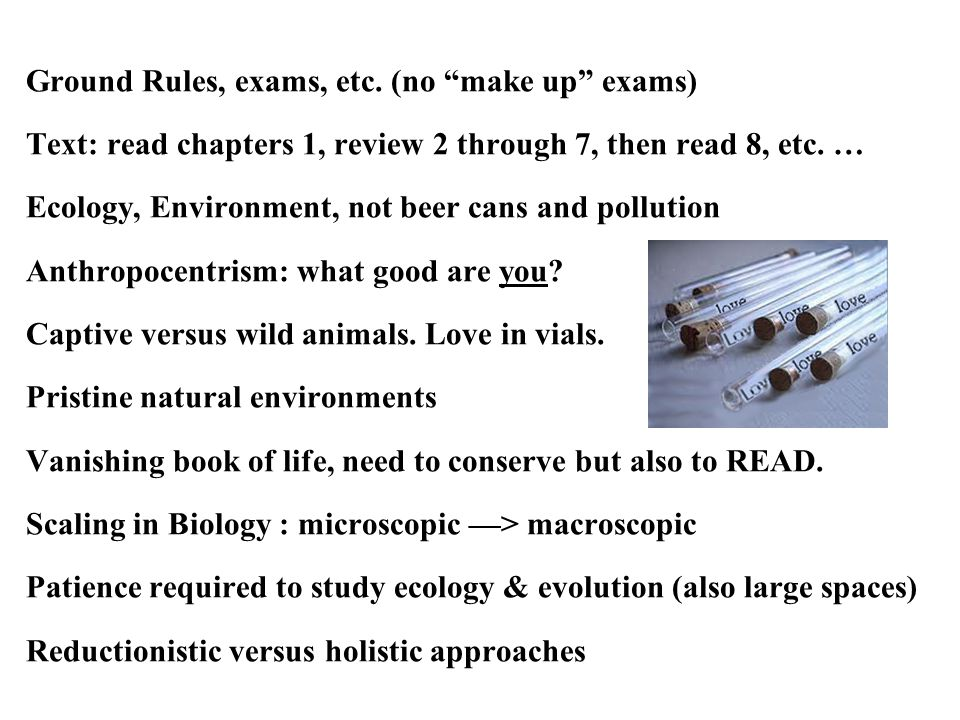 Domain of Ecology Simple versus multiple causality