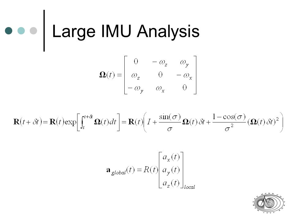 Large IMU Analysis